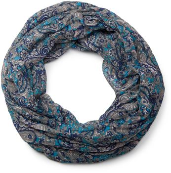 styleBREAKER tube scarf snood with an ornamental Indian-style Paisley pattern, 01016089 – Bild 17