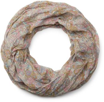 styleBREAKER tube scarf snood with an ornamental Indian-style Paisley pattern, 01016089 – Bild 21