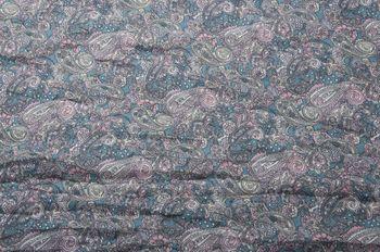 styleBREAKER Indian Style Paisley Muster Loop Schlauchschal, seidig leicht, Unisex 01016089 – Bild 20
