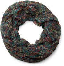 styleBREAKER Indian Style Paisley Muster Loop Schlauchschal, seidig leicht, Unisex 01016089 – Bild 3