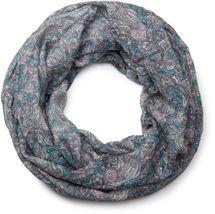 styleBREAKER Indian Style Paisley Muster Loop Schlauchschal, seidig leicht, Unisex 01016089 – Bild 19