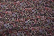 styleBREAKER Indian Style Paisley Muster Loop Schlauchschal, seidig leicht, Unisex 01016089 – Bild 2