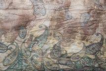 styleBREAKER Paisley Muster Loop Schlauchschal, Crash and Crinkle, seidig leicht, Damen 01016090 – Bild 10