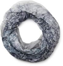 styleBREAKER flowers pattern loop tube scarf, crash and crinkle, silky and light, floral design, women 01016091 – Bild 7