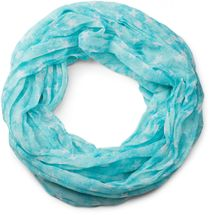 styleBREAKER silky star pattern loop tube scarf, crash and crinkle, light, unisex 01016093 – Bild 22