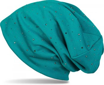 styleBREAKER noble beanie hat with rhinestone rivet application, unisex 04024037 – Bild 23