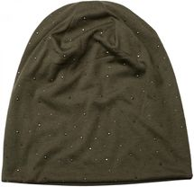 styleBREAKER noble beanie hat with rhinestone rivet application, unisex 04024037 – Bild 22
