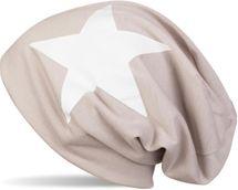 styleBREAKER klassische Beanie Mütze mit Stern Print, Unisex 04024038 – Bild 17