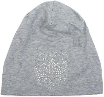 styleBREAKER klassische Beanie Mütze mit Strass Eulen Applikation, Damen 04024039 – Bild 22