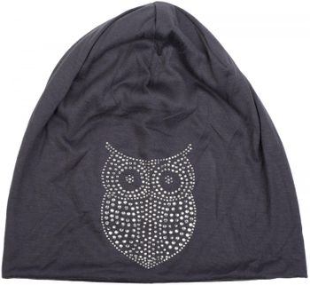 styleBREAKER classic beanie hat with owl rhinestone application, women 04024039 – Bild 23