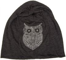 styleBREAKER classic beanie hat with owl rhinestone application, women 04024039 – Bild 17