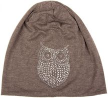 styleBREAKER classic beanie hat with owl rhinestone application, women 04024039 – Bild 20