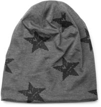 styleBREAKER beanie hat with stars print in destroyed vintage look, Unisex 04024041 – Bild 10