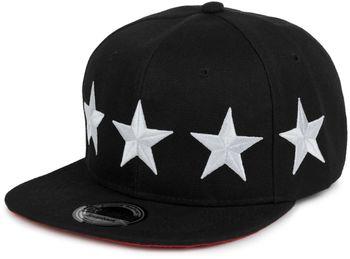 "styleBREAKER Snapback Cap ""STARS"" im 2-Tone Design, Baseball Cap, Unisex 04023030 – Bild 2"