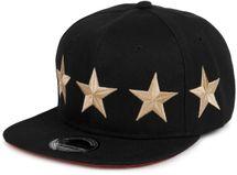 "styleBREAKER Snapback Cap ""STARS"" im 2-Tone Design, Baseball Cap, Unisex 04023030 – Bild 4"
