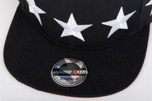 "styleBREAKER Snapback Cap ""STARS"" im 2-Tone Design, Baseball Cap, Unisex 04023030 – Bild 9"