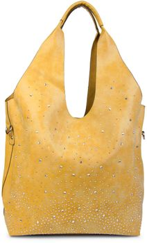 styleBREAKER's practical tote bag set with rhinestone detailing in a starry sky design, 02012031 – Bild 5