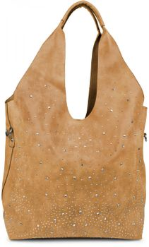 styleBREAKER's practical tote bag set with rhinestone detailing in a starry sky design, 02012031 – Bild 15