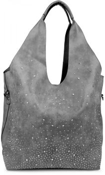 styleBREAKER's practical tote bag set with rhinestone detailing in a starry sky design, 02012031 – Bild 14
