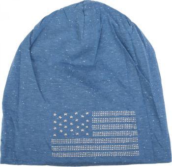 styleBREAKER edle Beanie Mütze im USA Flaggen Design mit Strassnieten, Unisex 04024042 – Bild 29