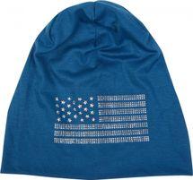 styleBREAKER edle Beanie Mütze im USA Flaggen Design mit Strassnieten, Unisex 04024042 – Bild 22