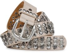 styleBREAKER elegant studded belt with large and small studs and rhinestones, 03010052 – Bild 7