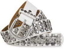 styleBREAKER elegant studded belt with large and small studs and rhinestones, 03010052 – Bild 19