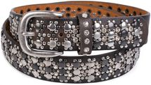 styleBREAKER elegant studded belt with large and small studs and rhinestones, 03010052 – Bild 26