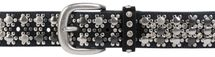 styleBREAKER elegant studded belt with large and small studs and rhinestones, 03010052 – Bild 41
