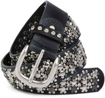 styleBREAKER elegant studded belt with large and small studs and rhinestones, 03010052 – Bild 39