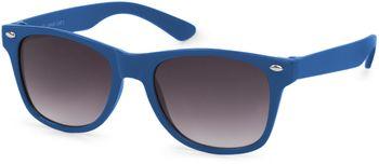 styleBREAKER Kinder Nerd Sonnenbrille mit Kunststoff Rahmen und Polycarbonat Gläsern, klassiches Retro Design 09020056 – Bild 2