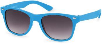 styleBREAKER Kinder Nerd Sonnenbrille mit Kunststoff Rahmen und Polycarbonat Gläsern, klassiches Retro Design 09020056 – Bild 5