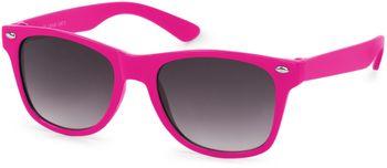 styleBREAKER Kinder Nerd Sonnenbrille mit Kunststoff Rahmen und Polycarbonat Gläsern, klassiches Retro Design 09020056 – Bild 9