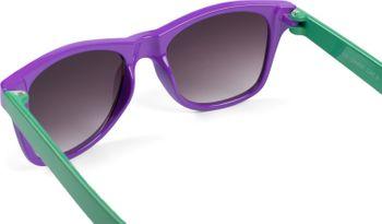 styleBREAKER Kinder Nerd Sonnenbrille mit Kunststoff Rahmen und Polycarbonat Gläsern, klassiches Retro Design 09020056 – Bild 71