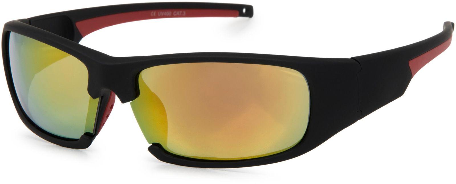Verspiegelt GetöntVollrand Sonnenbrille Sportbrille Oder Sport RLjA54