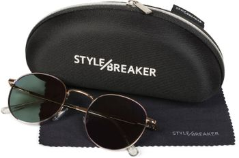styleBREAKER elegant, tinted Pilot Glasses for Ladies, Aviator Sunglasses with laquered frames and rhinestone, women 09020053 – Bild 17