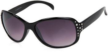 styleBREAKER Damen Butterfly Sonnenbrille mit Strass und Verlaufstönung, Schmetterlingsform 09020054 – Bild 3