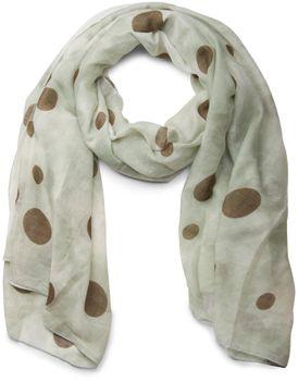 styleBREAKER vintage design dots pattern scarf, women 01016101 – Bild 6