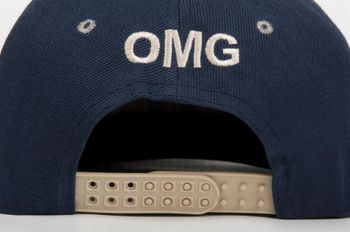 """styleBREAKER Snapback Cap """"OMG"""" im 2-Tone Design ,Baseball Cap, Unisex 04023033 – Bild 7"""