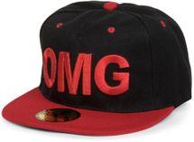 """styleBREAKER Snapback Cap """"OMG"""" im 2-Tone Design ,Baseball Cap, Unisex 04023033 – Bild 1"""