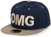 """styleBREAKER Snapback Cap """"OMG"""" im 2-Tone Design ,Baseball Cap, Unisex 04023033 – Bild 6"""
