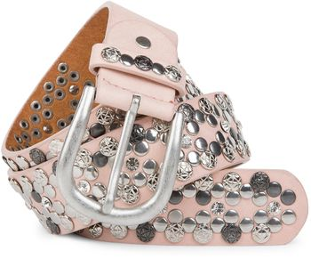 styleBREAKER Vintage Rivet belt, various rivets and rhinestones, can be shortened, women 03010053 – Bild 17