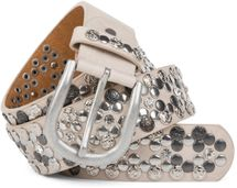 styleBREAKER Vintage Rivet belt, various rivets and rhinestones, can be shortened, women 03010053 – Bild 13