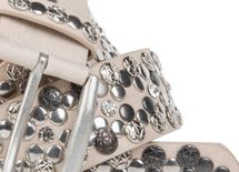 styleBREAKER Vintage Rivet belt, various rivets and rhinestones, can be shortened, women 03010053 – Bild 14