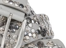 styleBREAKER Vintage Rivet belt, various rivets and rhinestones, can be shortened, women 03010053 – Bild 16