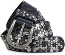 styleBREAKER Vintage Rivet belt, various rivets and rhinestones, can be shortened, women 03010053 – Bild 19
