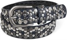 styleBREAKER Vintage Rivet belt, various rivets and rhinestones, can be shortened, women 03010053 – Bild 21