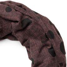 styleBREAKER Loop Schal mit Sterne und Punkte Muster, Vintage Look, Wendeschal, Schlauchschal, Unisex 01018080 – Bild 14