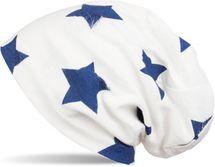 styleBREAKER Beanie Mütze mit Sterne und Vintage Punkte Muster, Unisex 04024046 – Bild 6