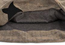 styleBREAKER Unisex Stoff Beanie Mütze mit Sterne und Vintage Punkte Muster, mit Rissen im Destroyed used Look 04024046 – Bild 14